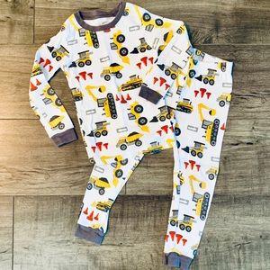 Boys Carter's Construction Vehicle Pajamas, Sz 4T